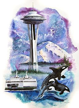 Sherry Shipley - Pacific Northwest Montage
