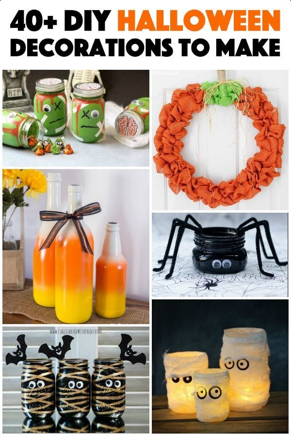 28 DIY Halloween Decorations - if you are looking for crafty ways to - halloween crafts decorations