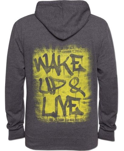 Wake Up & Live Men's Hoody