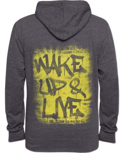 Wake Up & Live Men's Hoody