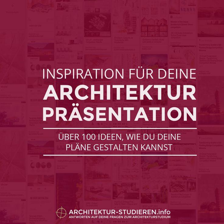 Die besten 25 pr sentation ideen auf pinterest for Architektur studieren info