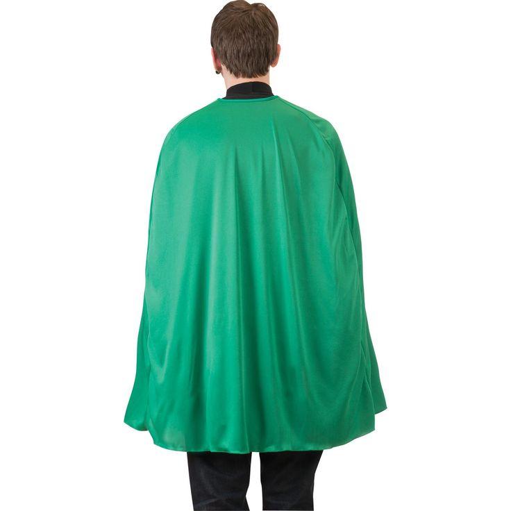 Green Superhero Cape Adult 36i