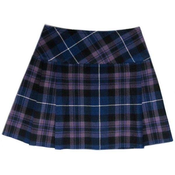 "Honour Of Scotland Plaid 16.5"" Scottish Mini Kilt Skirt US Size 4 26 (£20) ❤ liked on Polyvore featuring skirts, mini skirts, blue plaid mini skirt, plaid skirt, tartan mini skirt, mini skirt и honour"