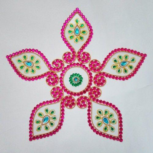 Kundan Rangoli Gokarna shape