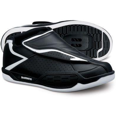 Zapatillas de MTB Shimano - AM45 SPD - 45 Black/White Zapatillas MTB - http://www.e-ciclismo.es/?product=zapatillas-mtb-shimano-am45-spd-45-black-white-zapatillas-mtb