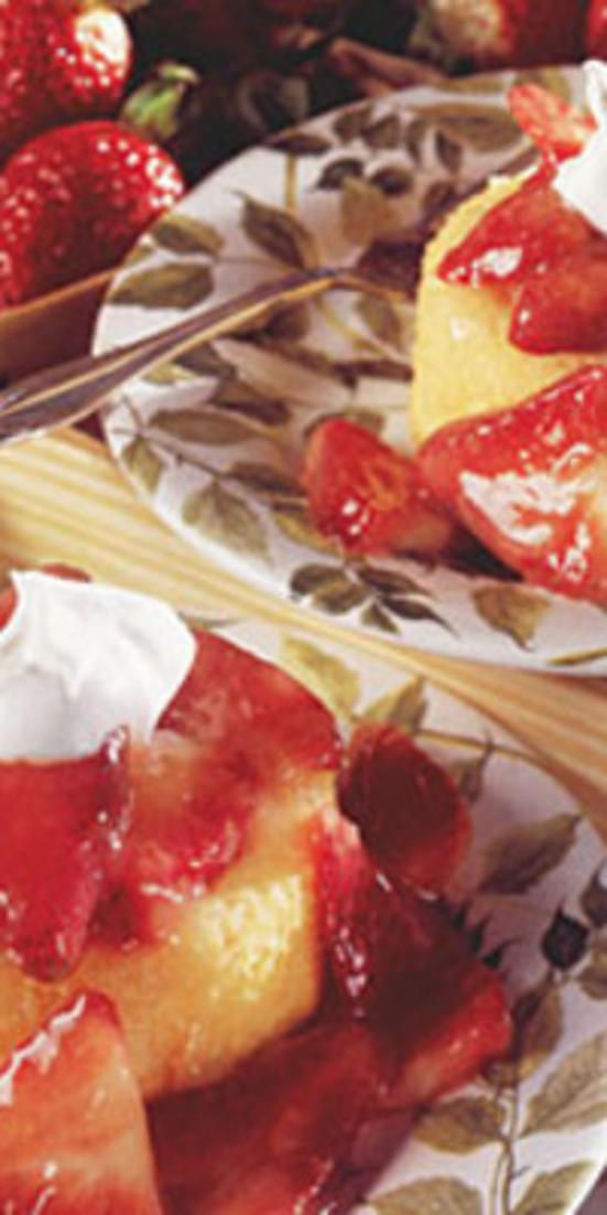 Strawberry Shortcakes  - Sweets aren't off-limits if you're aiming for a heart-healthy diet, just choose carefully. High fat content (particularly saturated fat) can cause higher cholesterol levels in the body, but these 10 desserts are both low-fat and tasty!