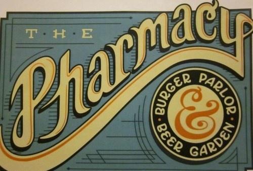 old school beer logo