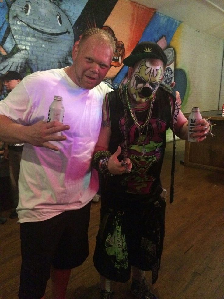Vanilla gorilla and toad at the icp concert