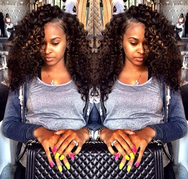 28 best best hair weaves images on pinterest hair weaves malaysian kinky curly full lace human hair wigs 100 human hair wigs for african americans glueless lace front human hair wigs pmusecretfo Image collections