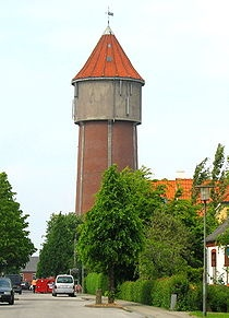 The Struer water tower.