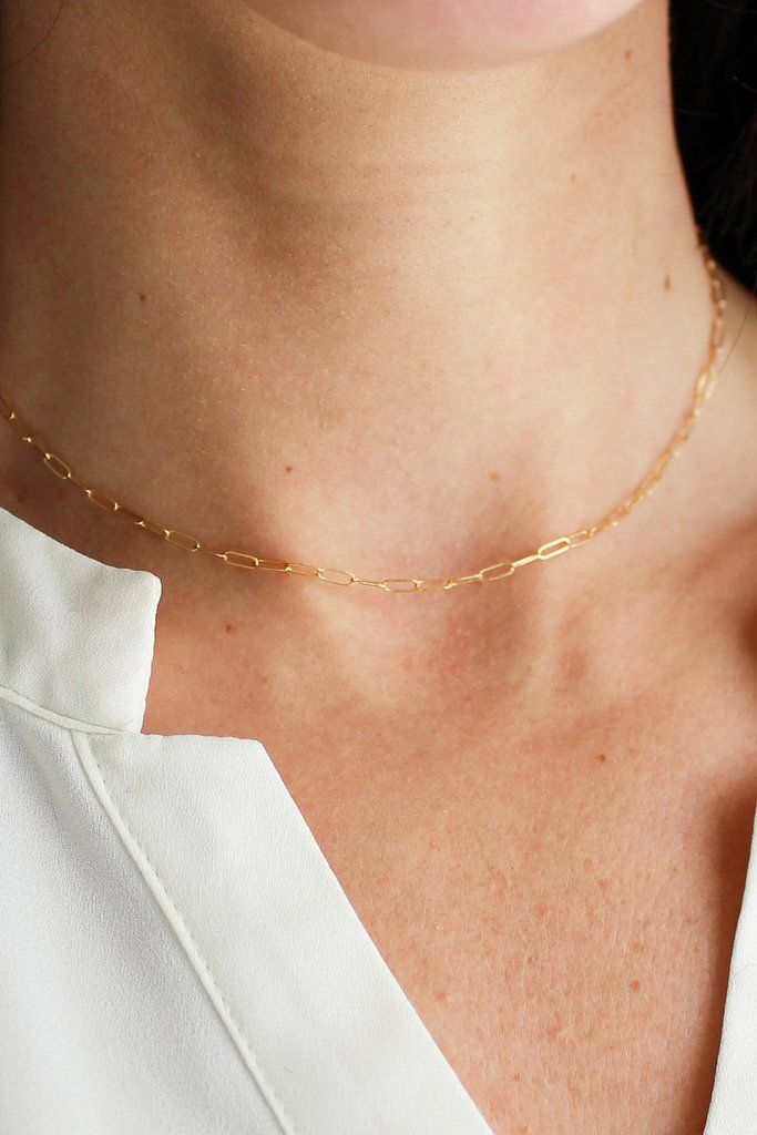 #handmadejewelry #dainty #minimalist #minimalistnecklace #chokers #chokernecklace #daintynecklace #layeringnecklace #madeintheusa