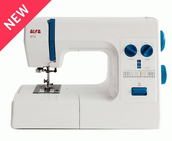 Máquina de coser Alfa 674