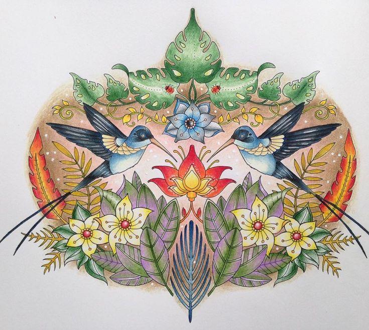 Magical Jungle  #johannabasford #johannabasfordmagicaljungle #magicaljungle…
