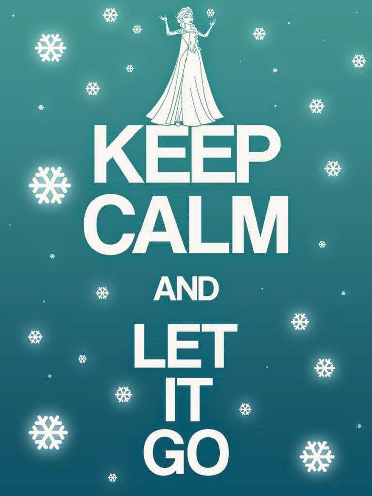 """Rótulos """"Keep Calm"""" de Frozen para Imprimir Gratis."""
