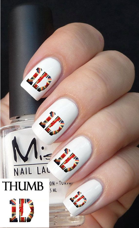 One Direction nail decals nail decal nail art by DesignerNails, $3.95