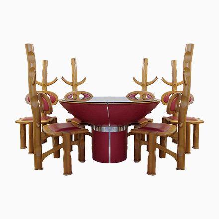 Brasilianischer Vintage Esstisch Mit 6 Stühlen Jetzt Bestellen Unter:  Https://moebel.ladendirekt.de/kueche Und Esszimmer/tische/esstische/?uidu003d767ce5c5 92d7  ...
