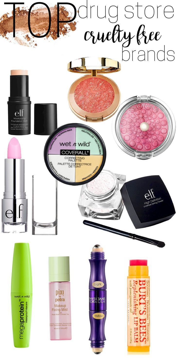 My top favorite cruelty free drug store makeup brands. I