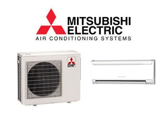 for landlord mitsubishi mr. slim air conditioners wall