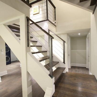 Stainless Steel Banister Design, Pictures, Remodel, Decor and Ideas - page 3