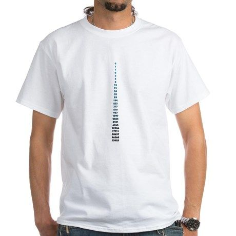 The Fibonacci Code T-Shirt | CafePress.com