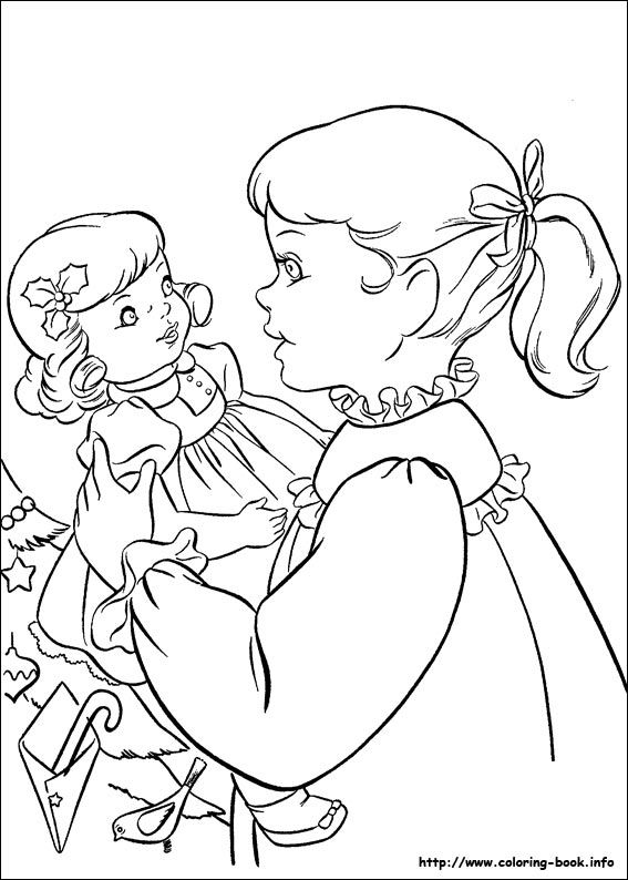 more christmas coloring pages - photo#16