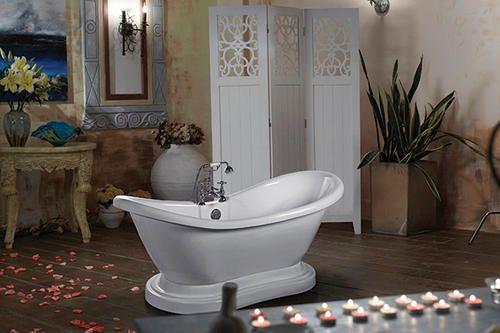 amber double slipper bathtub at menards bathrooms