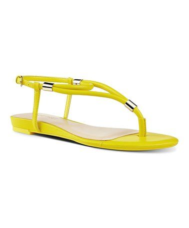 Another great find on #zulily! Yellow Rivers Sandal #zulilyfinds