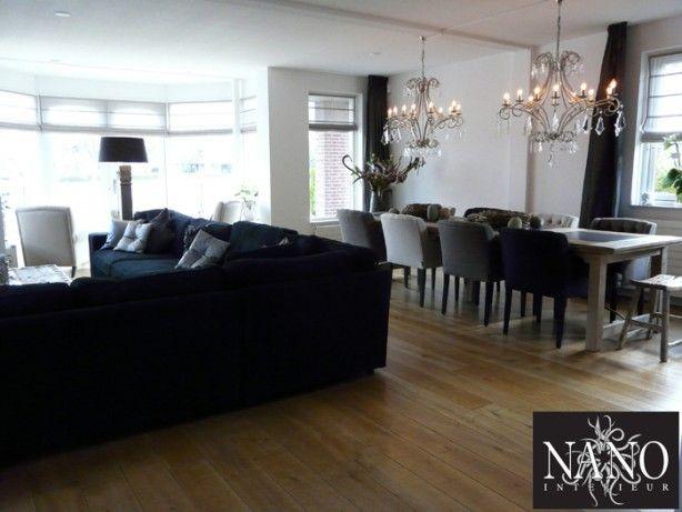 Hele mooie woon eetkamer idee n voor in huis pinterest photos - Deco loungeeetkamer ...