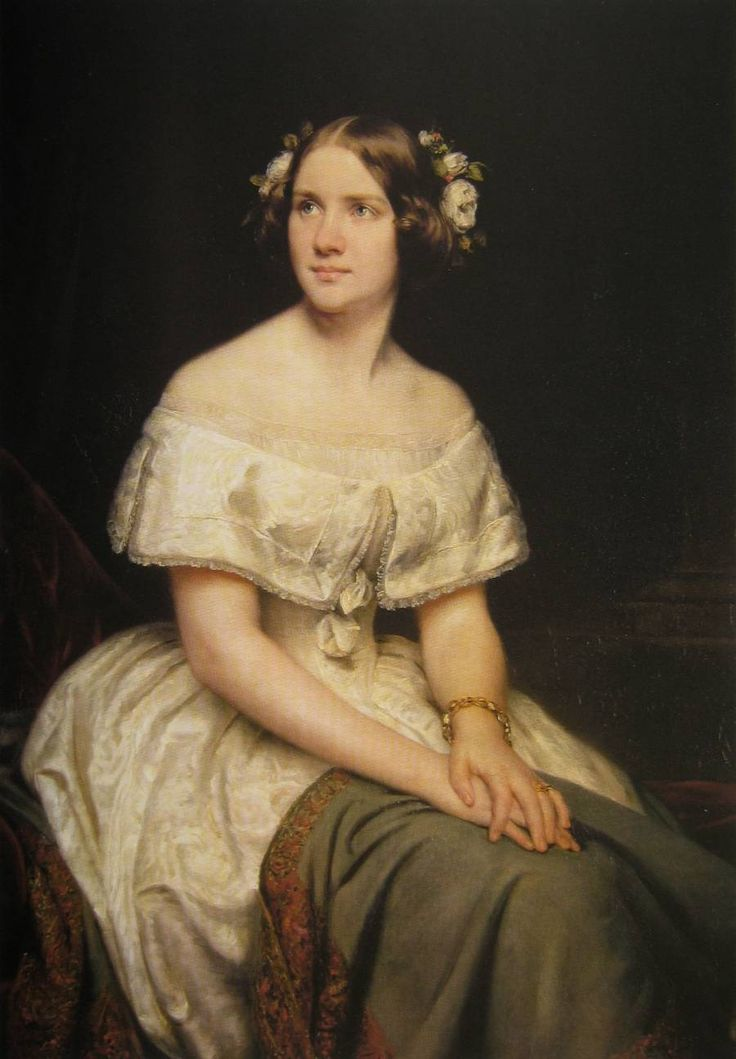 Eduard Magnus Jenny Lind, portrait 1846