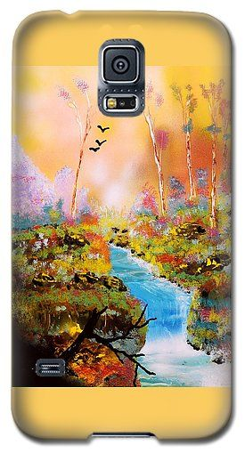 Land Of Oz Galaxy S5 Case Printed with Fine Art spray painting image Land Of Oz by Nandor Molnar (When you visit the Shop, change the orientation, background color and image size as you wish)