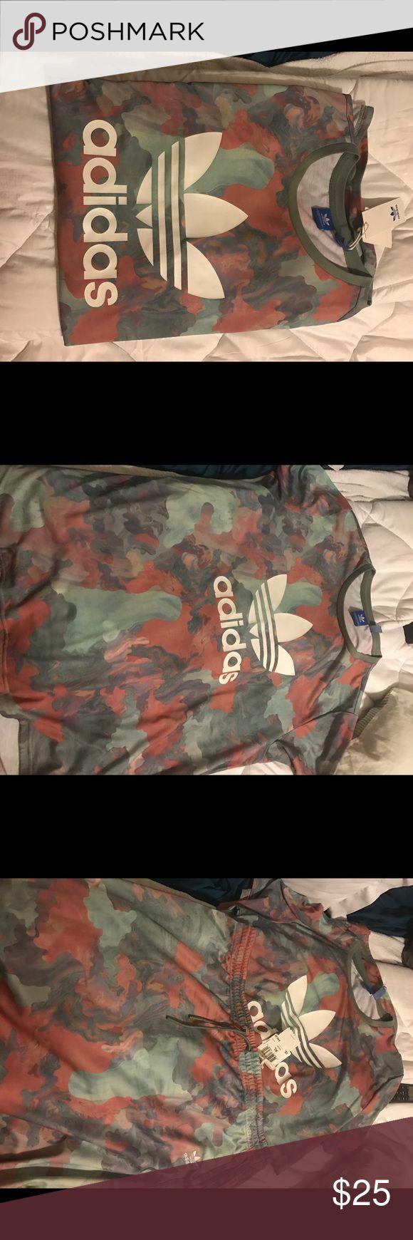 Women's Adidas camo pastel shirt sz XL Women's Adidas camo pastel shirt sz XL short sleeve! Soft stretch! Comfy and cute! Tops Tees - Short Sleeve