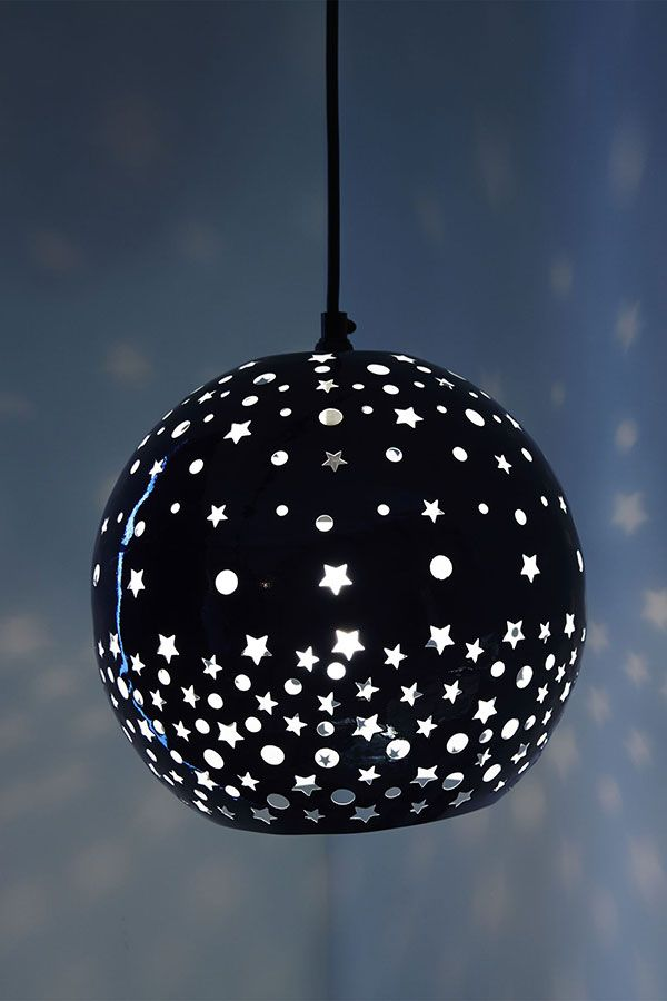 The effect our Star and Dot pendant has on a room is