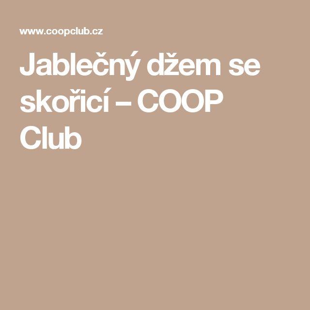 Jablečný džem se skořicí – COOP Club