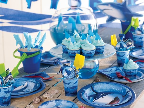 Make a Splash With This SharkInfested Party Theme its hard to