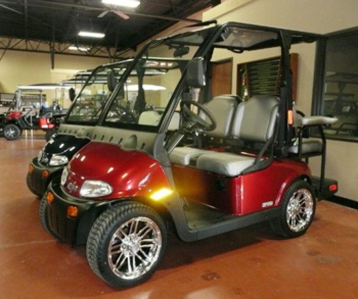 Red Street Legal Golf Cart - Street Legal Golf Carts in Dallas-Fort ...