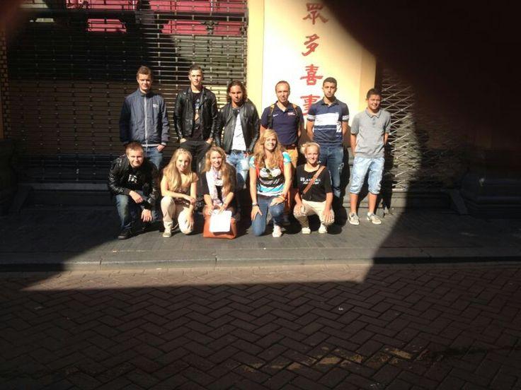 Groep 1 - voetbalteam foto door berjaarde