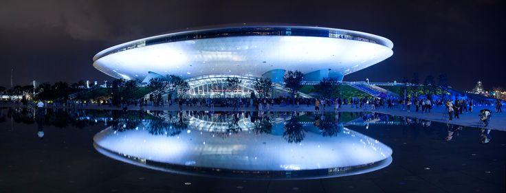 Mercedes-Benz Arena (Shanghái) - Maravillas Modernas