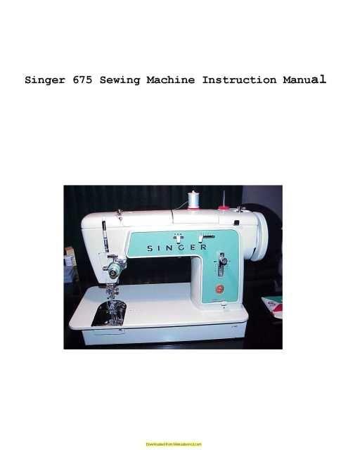 Singer 40 Sewing Machine Instruction Manual Sewing Machine Classy Singer Industrial Sewing Machine Instruction Manual