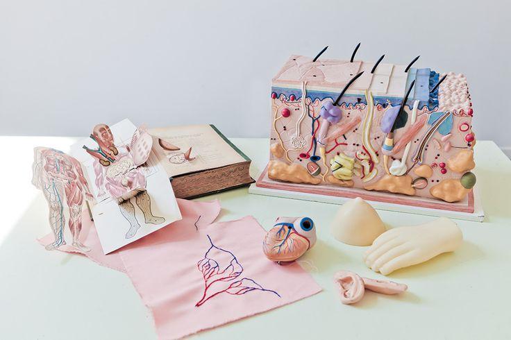 La fibre textile d'Émilie Faïf sur www.milkdecoration.com