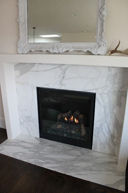 Marble fireplace mantels woodworking projects plans for Marble for fireplace surround
