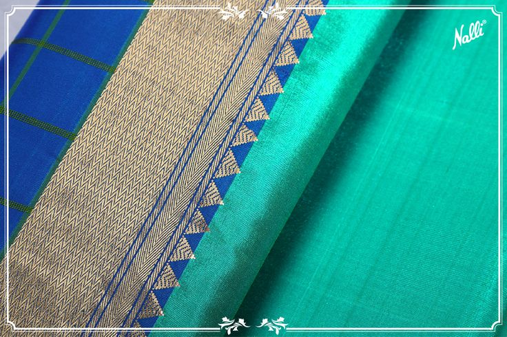 The saree with a unique weave! Shop online for this blue Coimbatore silk saree with a zari border in contrast color and intricate checks which add a distinct sophistication to this charming attire.Priced at INR 7,008/-, you can buy this saree online from our website (link in the bio) #Nalli # silksarees #coimbatoresilksaree #puresilksaree