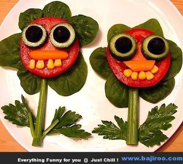funny food creation designs food art funny images bajiroo pictures 29 Funny Food Art You Can Try at Home (36 Photos)