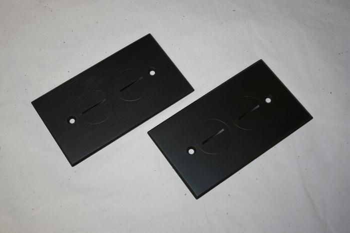 floor outlet covers but finish would match  the rest of our hardware.