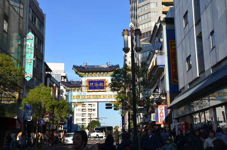 Middle gate of China town