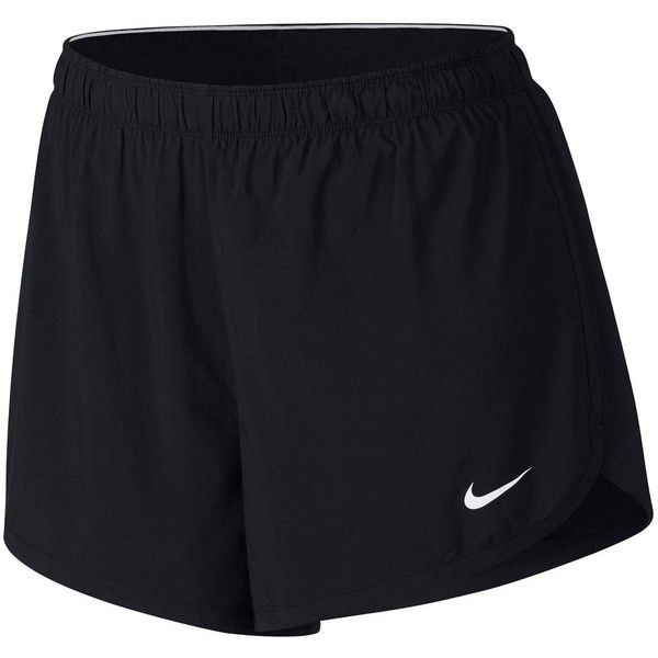Nike Training 2-In-1 Short (Plus Size) ($45) ❤ liked on Polyvore featuring activewear, activewear shorts, nike sportswear, women's plus size activewear, nike activewear, nike and plus size sportswear