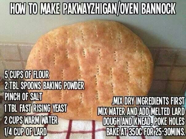 Finally a simple bannock recipe