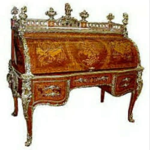 louis xv 39 bureau du roi 39 the most famous cylinder desk in the world cylinder desks. Black Bedroom Furniture Sets. Home Design Ideas