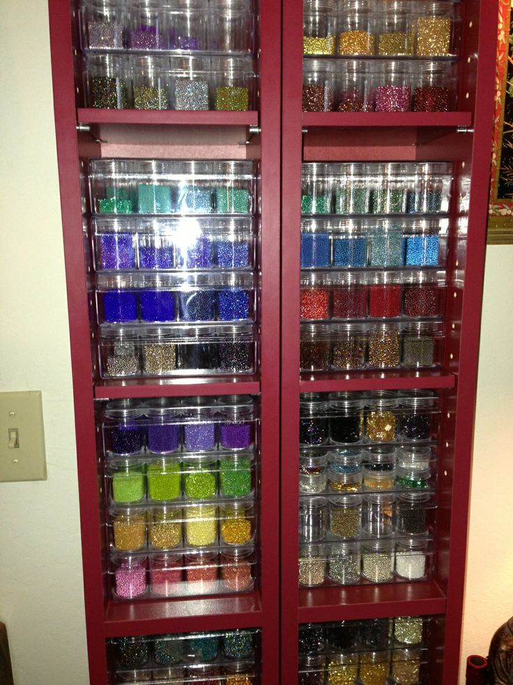 Bead Craft Storage Containers