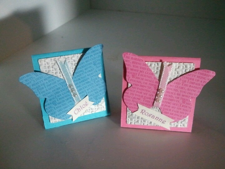 My own creation...Bookmarks for my twins www.tammyrichard.bolgspot.com