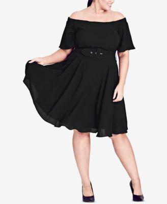 Trendy Plus Size A-Line Dress 7